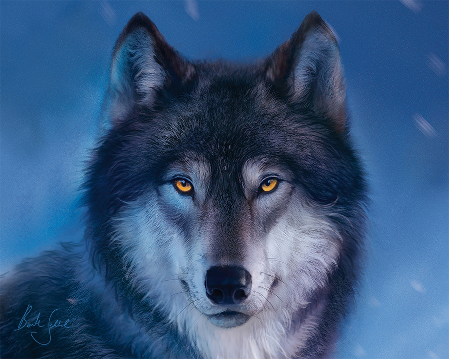 """Mousepad """"Wolf"""""""