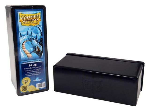 Dragon Shield: 4-Compartment Card Box (Black)