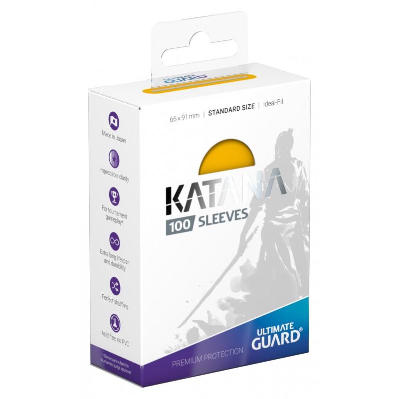 100 Ultimate Guard Katana Sleeves (Yellow)