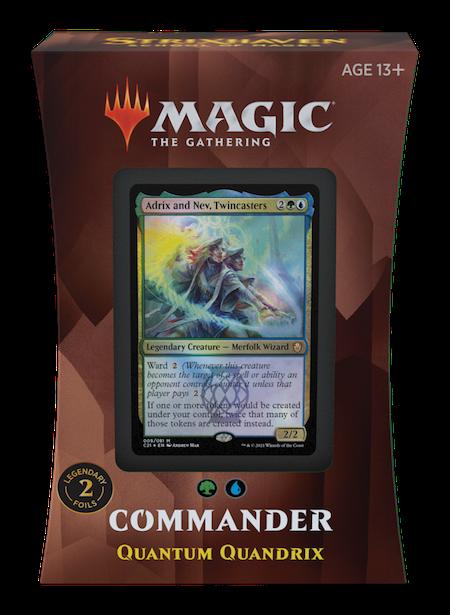 """Commander: Strixhaven: """"Quantum Quandrix"""" Deck"""