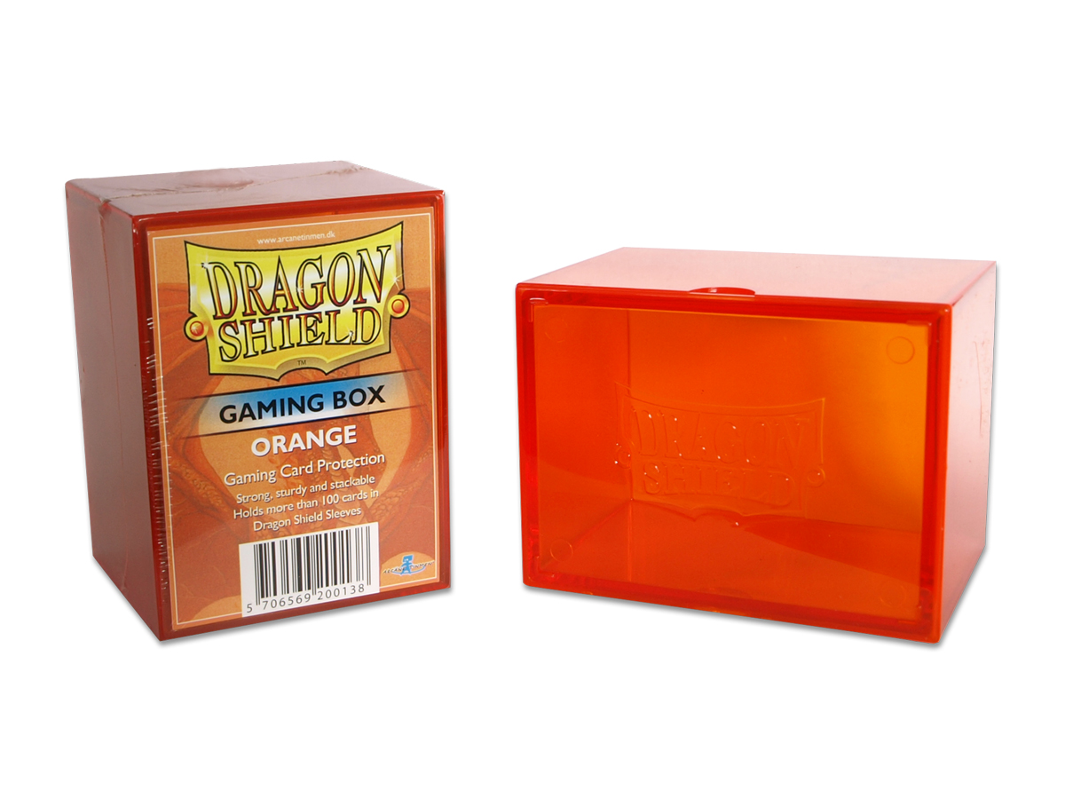 Dragon Shield Gaming Box (Orange)